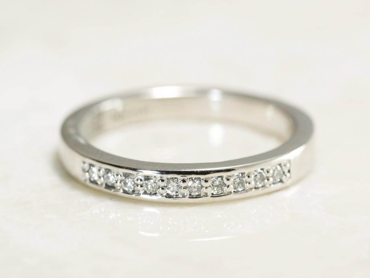 Handmade Platinum 10 diamond fingerprint Band exclusively made at Brent&Jess